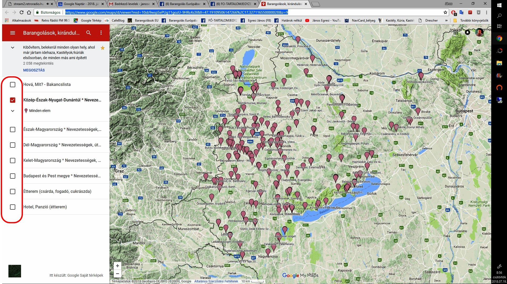 saját térkép Fedezzük fel – Google Térképem | Barangolás Európában Határok nélkül saját térkép